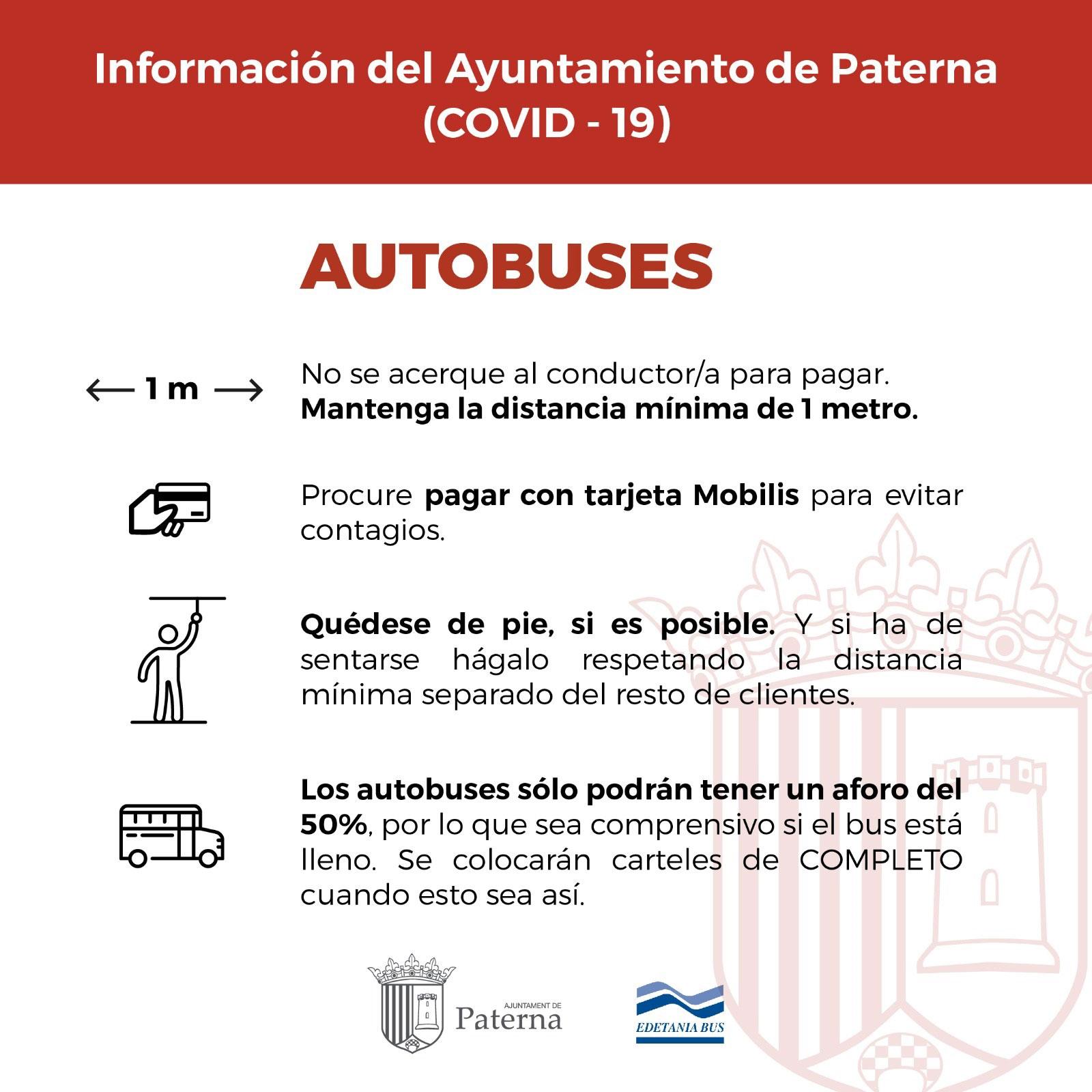 Información del Ayuntamiento de Paterna - Autobuses
