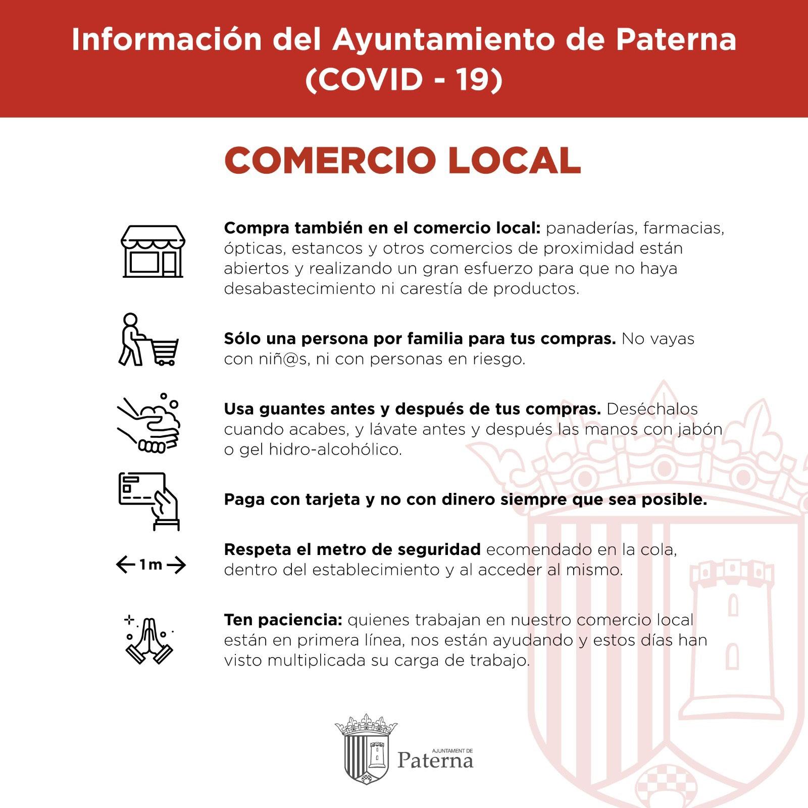 Información del Ayuntamiento de Paterna - Comercio local